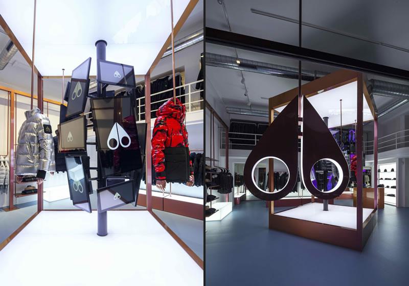 Un pop-up store a Milano per MOOSE KNUCKLES