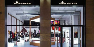 Un pop-up store a Milano per MOOSE KNUCKLES.