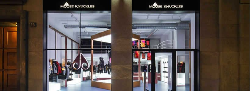 Un pop-up store a Milano per MOOSE KNUCKLES.