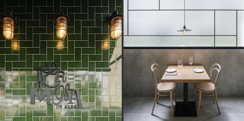 Restaurant design - La Hermosa de Alba, Santander