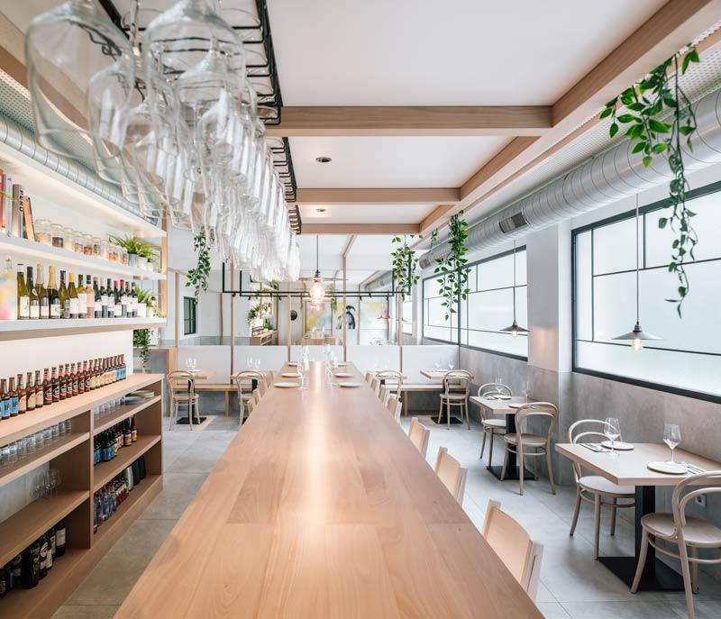 Restaurant design - La Hermosa de Alba, Santander.