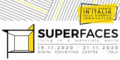 SUPERFACES PREVIEW: tutte le ultime tendenze sulle superfici a Rimini.
