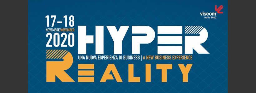 VISCOM ITALIA HYPER REALITY è on line!