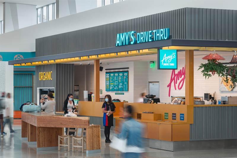 Amy's Drive Through San Francisco Airport
