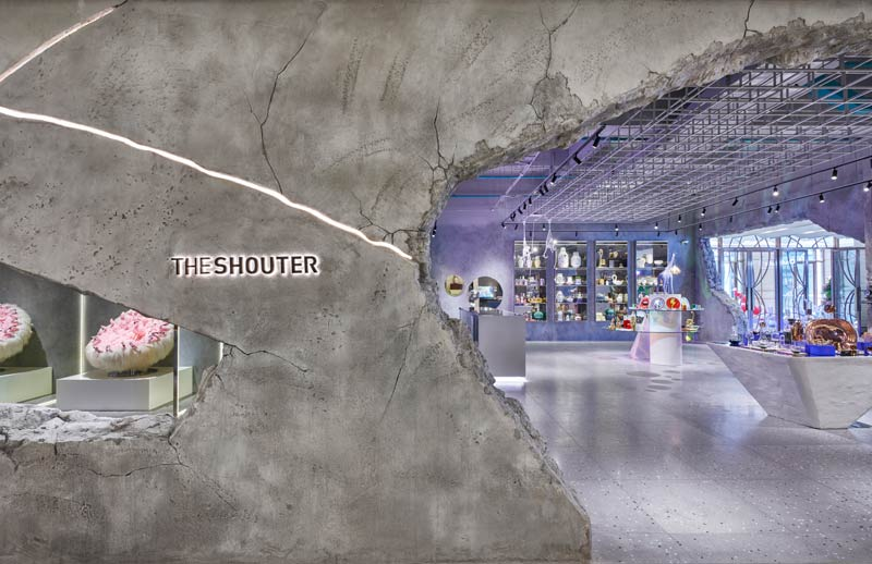 Interior design boutique THE SHOUTER Shanghai