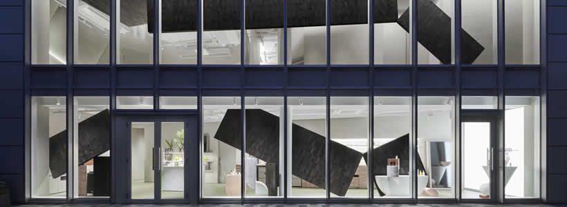 nendo designs the concept store for the skin care brand Athletia.