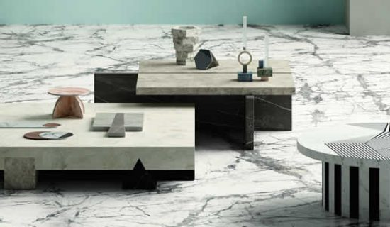 Una nuova texture effetto marmo entra nella collezione Marmi Maximum di Fiandre.