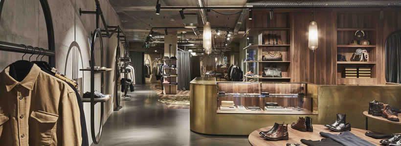DANIELE DENTICI Fashion Store, Spuistraat Amsterdam.