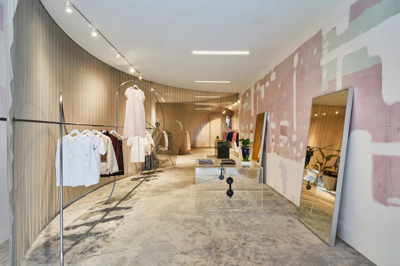 Almost Studio designs new flagship boutique for Sandy Liang