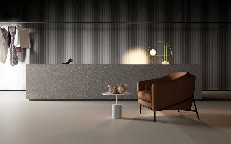 HI-MACS® embraces the Terrazzo trend with two new colours