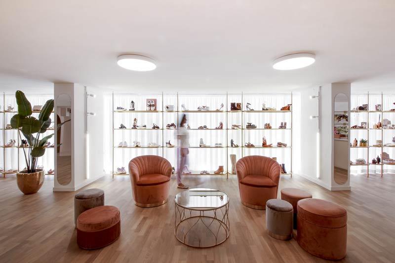 Puccio Collodoro Architetti designed the Melania Caruso Flagship Store in Palermo