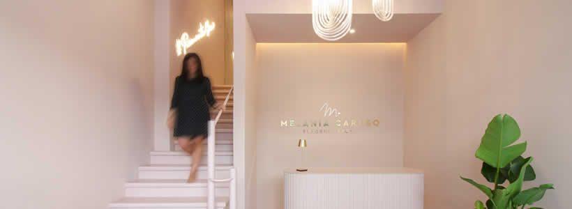PuccioCollodoro Architetti designed the Melania Caruso Flagship Store in Palermo