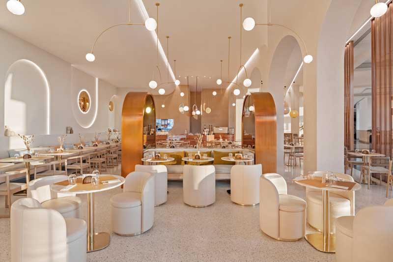 TOPLUM Restaurant Dubai project by Vera Dieckmann XO Atelier