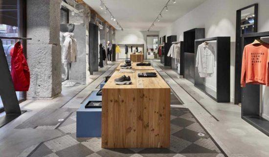 ECOALF apre un nuovo Flagship store a Madrid.