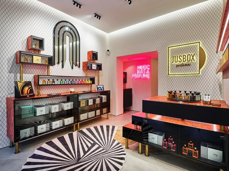 Jusbox Perfumes apre il primo flagship store a Milano