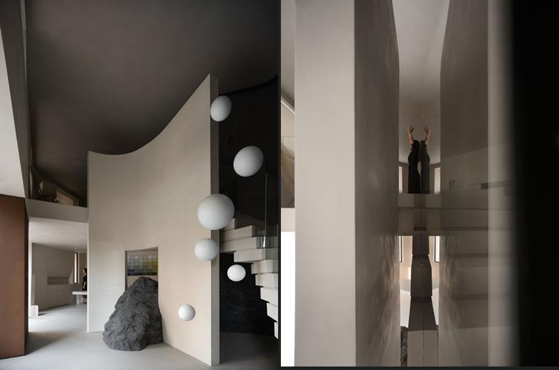 Lico Design rivoluziona il rapporto fra spazio e prodotto nel Novacolor showroom di Huizhou in Cina