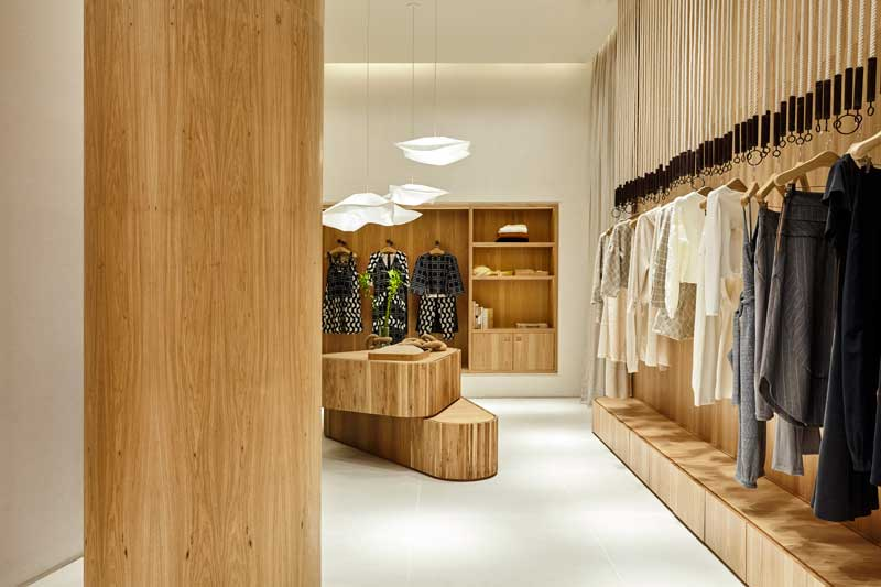 Carolina Maluhy + Partners designs the new store for clothing brand A. Niemeyer in Brazil