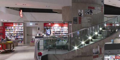 Imoon e il suo brand Makris illuminano il nuovo look della Libreria Feltrinelli