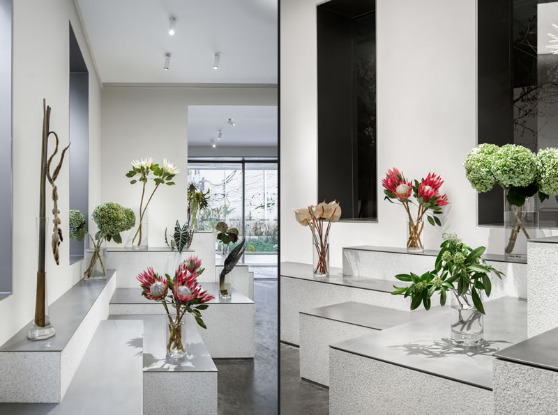 MDO Architects designed the Absolute Flower Shop