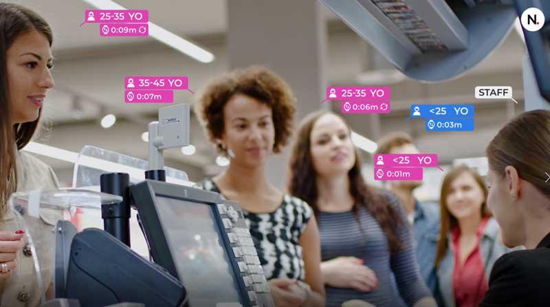 Aquaji software di analisi del marketing AI per esercizi fisici e al dettaglio