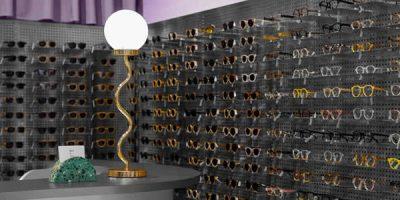 Progetto per il negozio di Ottica Breathe a Bogotà