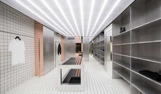 Progetto per la Boutique D – 2 a Salerno