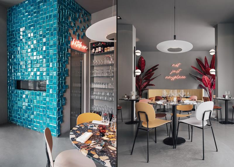 MODO architettura + design Studio progetta il Ristorante Amedeo di Livorno