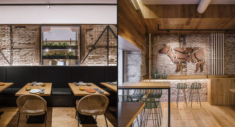 Zooco Estudio realizza il nuovo progetto per il ristorante La Vaca y La Huerta di Madrid