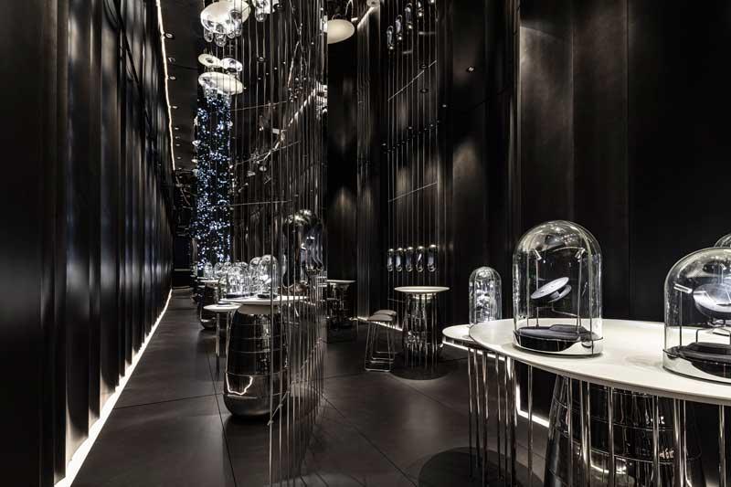 Baranowitz + Kronenberg (B+K) have designed the flagship New York showroom for high-end designer jewellery brand Âme