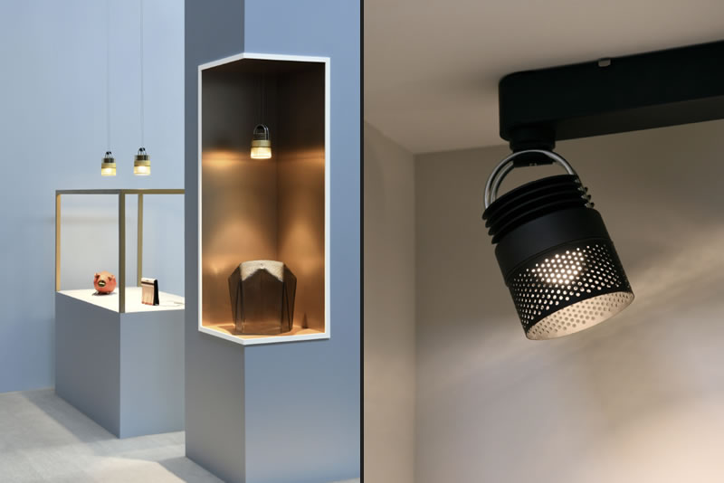 The new MOD lighting products enable to create unlimited configurations