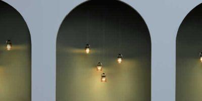 Sistema di illuminazione modulare MOD progettato da Stefan Diez per Sammode