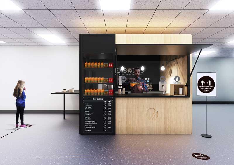 The Pod: La Prima Caffetteria pronta all'uso ai tempi del Covid