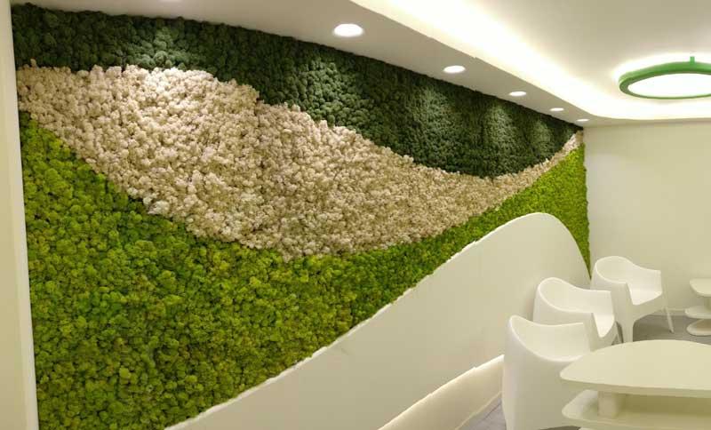 BENETTI MOSS the zero-maintenance vertical garden for interiors