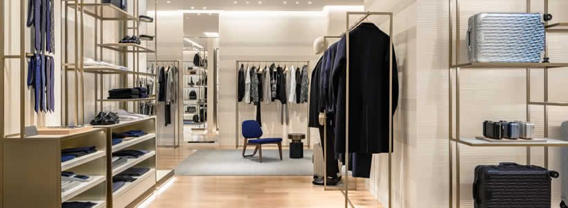 DIOR Men boutique in Moscow