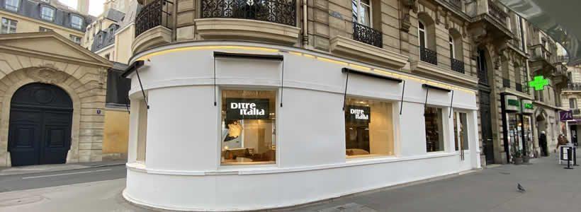 DITRE ITALIA inaugura un nuovo store a Parigi
