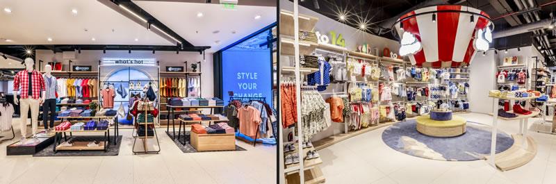 Indian fashion retailer Pantaloons new store concept by Dalziel & Pow