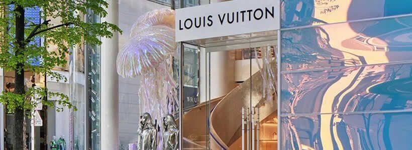 Louis Vuitton reopens Ginza Namiki Tokyo Flagship Store