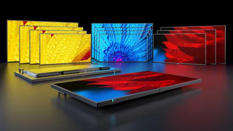MESSAGE la nuova generazione di display di grande formato