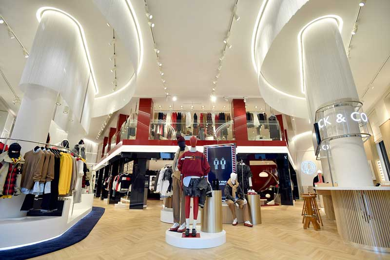 Striking and immersive new Paris flagship for Tommy Hilfiger