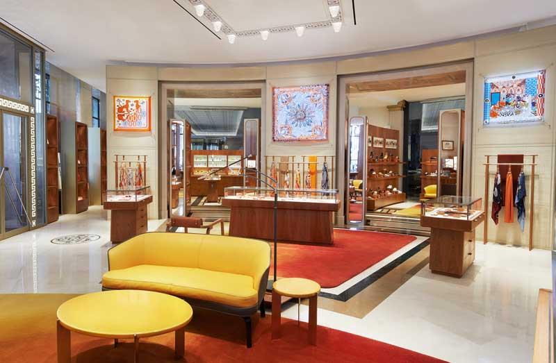 Hermès Galería Canalejas Madrid by RDAI