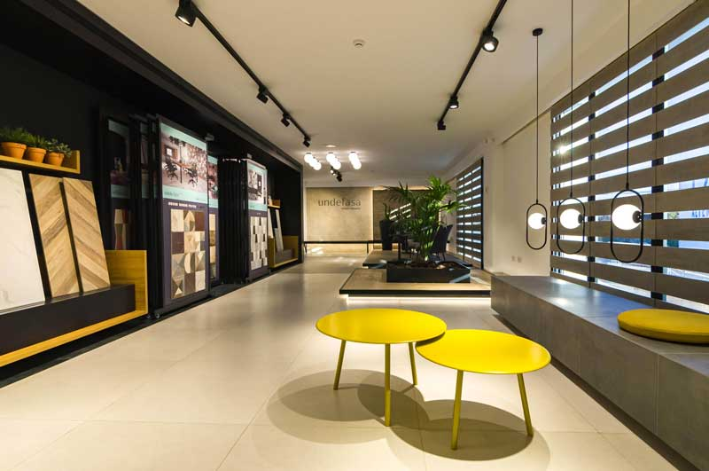 Estudio Vitale signes the interior design project for Undefasa's showroom