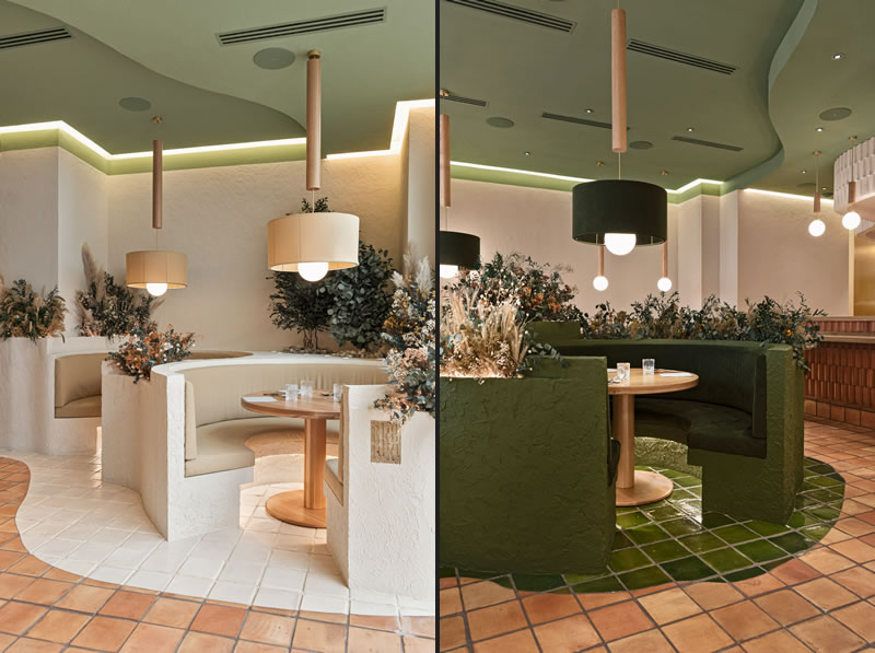 Masquespacio designs a forest of flowers and plants for Huesca