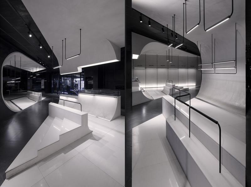 Lukstudio retail design for Akenz