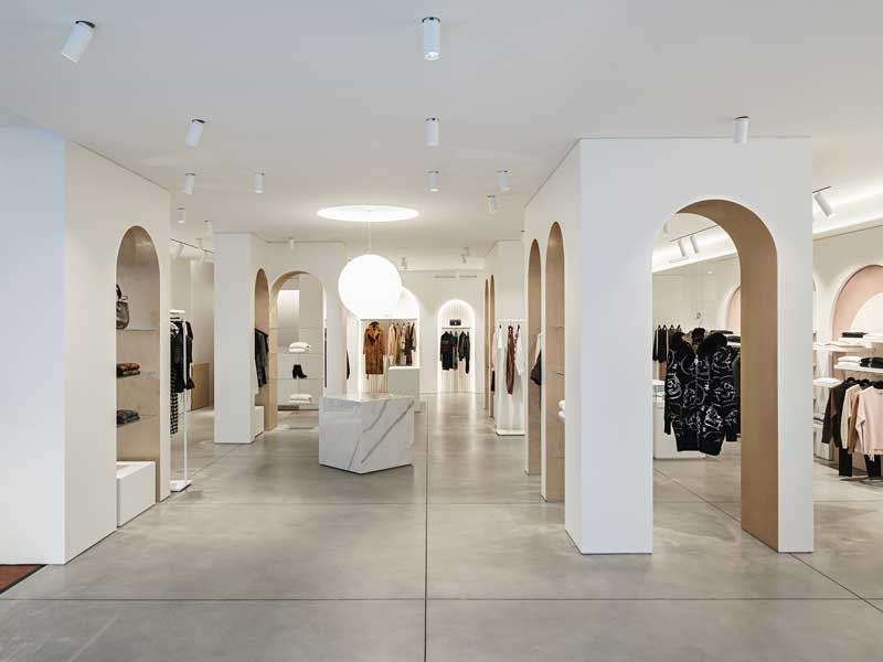 Interior design boutique Branà 1915 by B+P Architects
