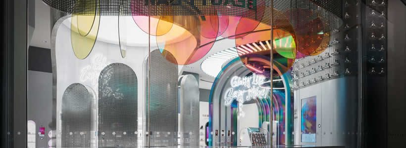 Storeage designs first brand store for B+Tube cosmetics in China
