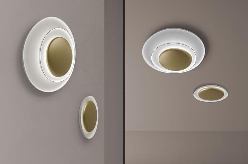 Bahia lampada da parete e soffitto by Foscarini