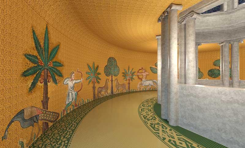 I mosaici di Sicis al Padiglione Italia a Expo Dubai