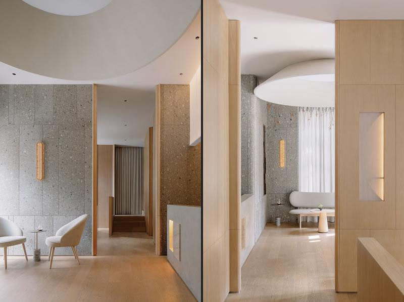 Sò Studio designed  the restaurant Lunar in Shanghai