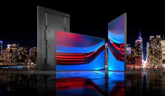 Sharp/NEC presenta la nuova generazione di display serie P di grande formato per applicazioni mission-critical