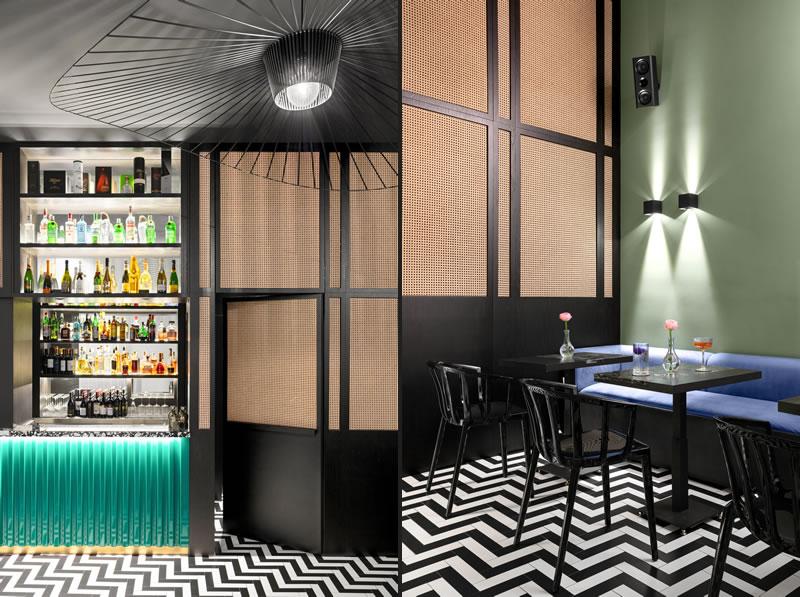 Parentesi concept bar by Carmine Abate Architect